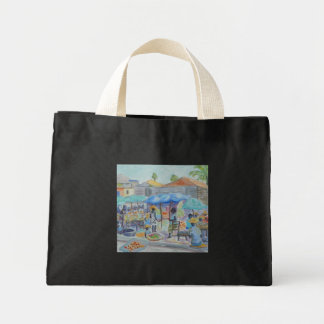SHOPPING IN HAITI Tote