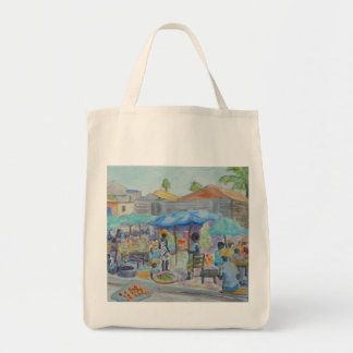 SHOPPING IN HAITI Tote Bag