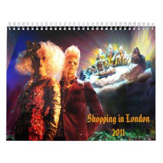 Shopping in London 2011 Calendar