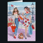 """Shopping in Paris Girls 