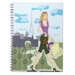 Shopping in Paris Notebook
