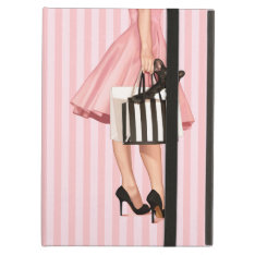 Shopping In The 50's Ipad Air Cover at Zazzle