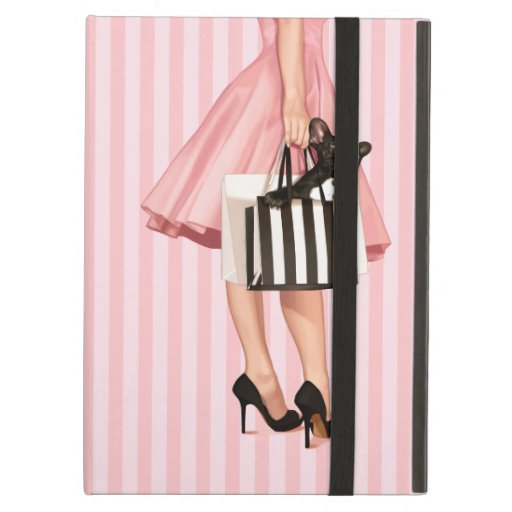 Shopping in the 50's iPad cases