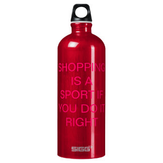 Shopping is a sport if you do it right! SIGG traveler 1.0L water bottle