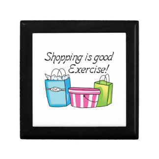 Shopping Is Good Exercise! Gift Boxes