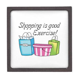 Shopping Is Good Exercise! Premium Gift Box