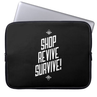 Shopping is Healthy Inspirational Laptop Bag Laptop Sleeve