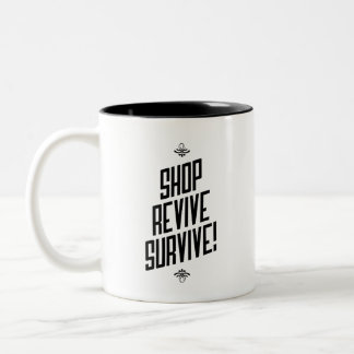 Shopping is Healthy Inspirational Mug