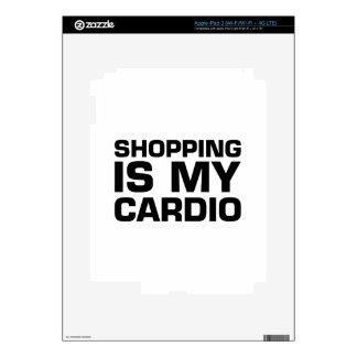 Shopping Is My Cardio iPad 3 Decal