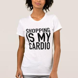 Shopping is my cardio. shirts