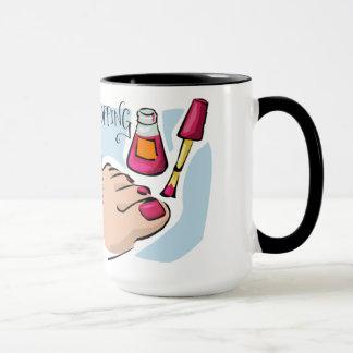 Shopping is my life Ringer Mug