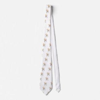 Shopping Kitty Neck Tie