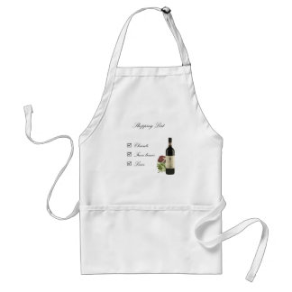 Shopping List Aprons