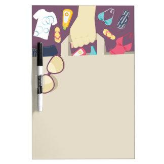 Shopping list Dry-Erase board