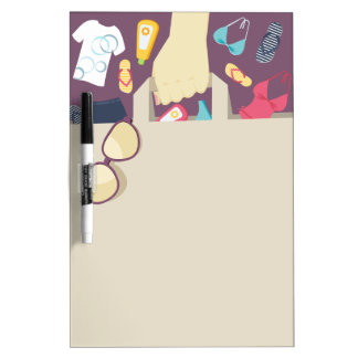 Shopping list dry erase boards