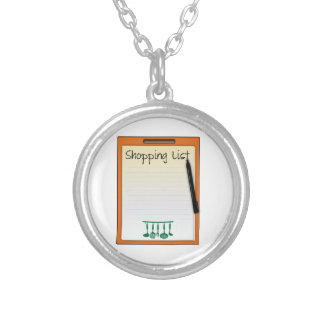 Shopping List Necklaces