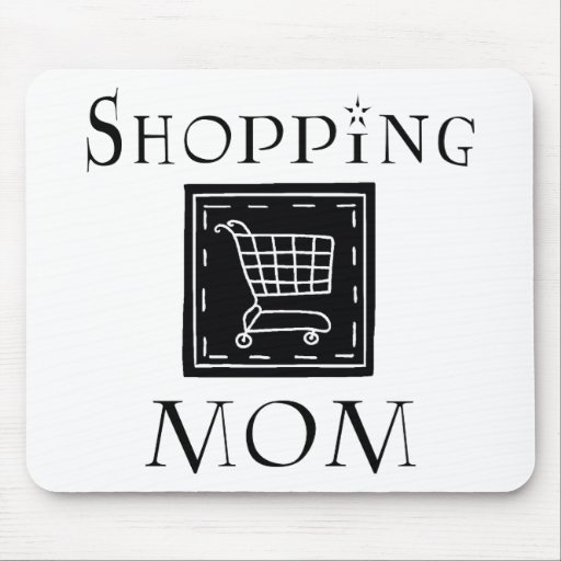 Shopping Mom Mouse Pad