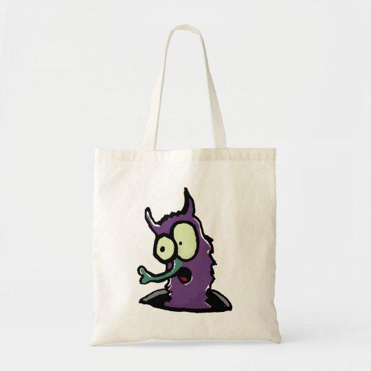 shopping monster tote bag