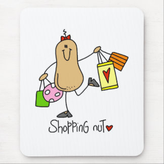 Shopping Nut Mouse Pad