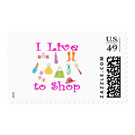 Shopping Postage Stamps