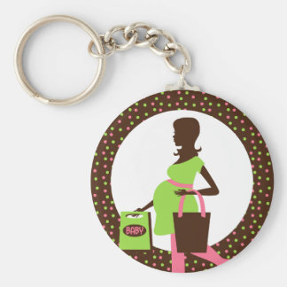 Shopping Pregnant Lady Favor Key Chains