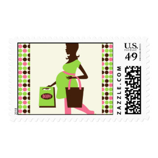 Shopping Pregnant Lady Postage