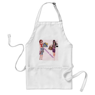SHOPPING QUEEN COLLECTION ADULT APRON