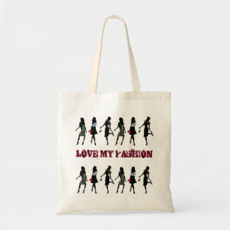 SHOPPING QUEEN COLLECTION BUDGET TOTE BAG