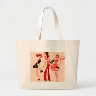 SHOPPING QUEEN COLLECTION JUMBO TOTE BAG
