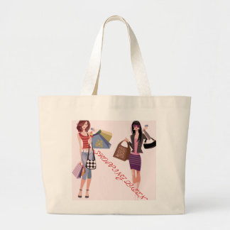 SHOPPING QUEEN COLLECTION LARGE TOTE BAG
