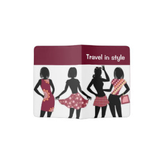 SHOPPING QUEEN COLLECTION PASSPORT HOLDER