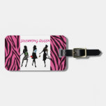 SHOPPING QUEEN COLLECTION TAG FOR LUGGAGE