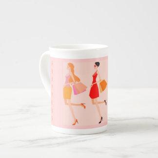 SHOPPING QUEEN COLLECTION TEA CUP