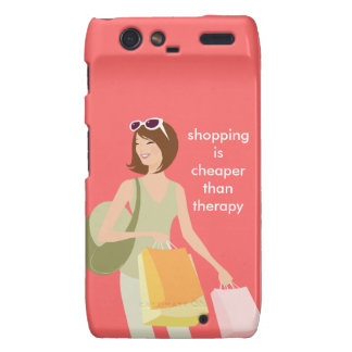 Shopping Saying Droid Razr Case-Mate Phone Cover Droid RAZR Cases