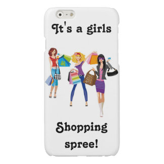 shopping spree glossy iPhone 6 case