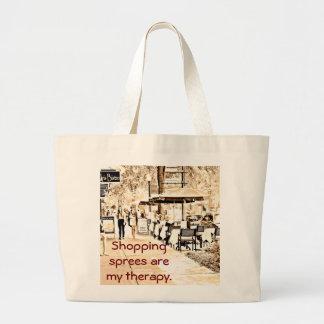 Shopping spree _Jumbo Tote Bag