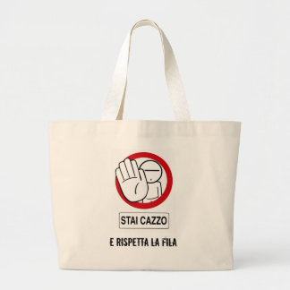 Shopping STAI CAZZO Jumbo Tote Bag