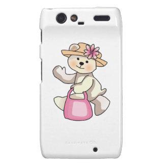 Shopping Teddy Bear Droid RAZR Covers