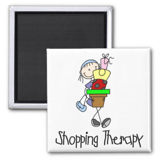 Shopping Therapy Magnet