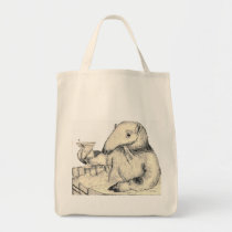 Shopping Tote Bag Aardvark Gift