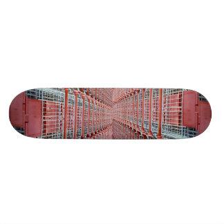 Shopping trolleys skateboard decks