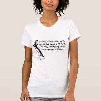 Shopping with husband shirts