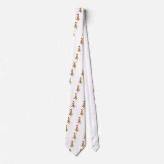 Shopping Woman Neck Tie