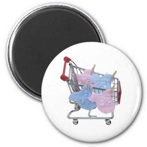 ShoppingBabyClothes061509 Fridge Magnet