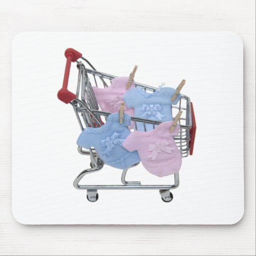 ShoppingBabyClothes061509 Mouse Pad