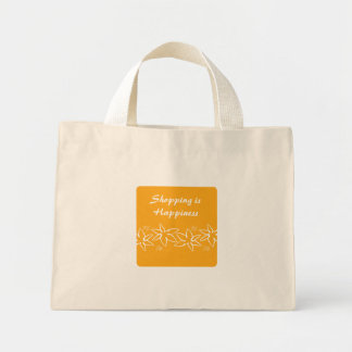 shoppingbag, Shopping is Happiness, flowers Bag