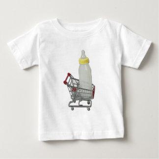 ShoppingCartBabyBottle122111 Baby T-Shirt