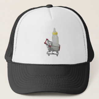 ShoppingCartBabyBottle122111 Trucker Hat