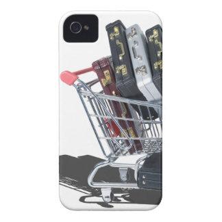 ShoppingCartofBriefcases061315 iPhone 4 Case