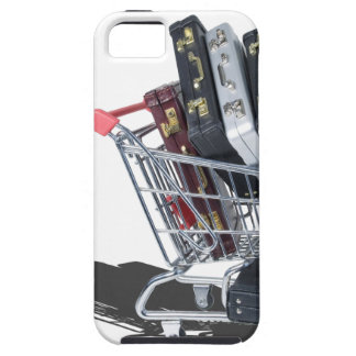 ShoppingCartofBriefcases061315 iPhone SE/5/5s Case